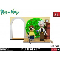 Rick and Morty 'Evil Rick and Morty' Construction Set