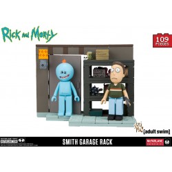 Rick and Morty 'Smith Garage Family Rack' Construction Set