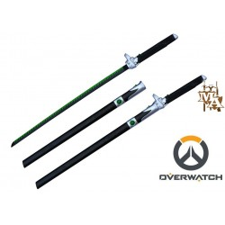 Overwatch Genji Katana Sword with Sheath Foam Prop Cosplay
