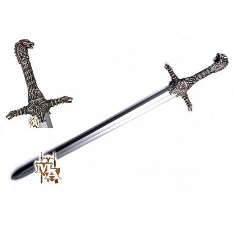 Game of Thrones Single Straight Oathkeeper Style Foam LARP Sword