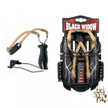 Barnett Black Widow Slingshot / Catapult + Ammo