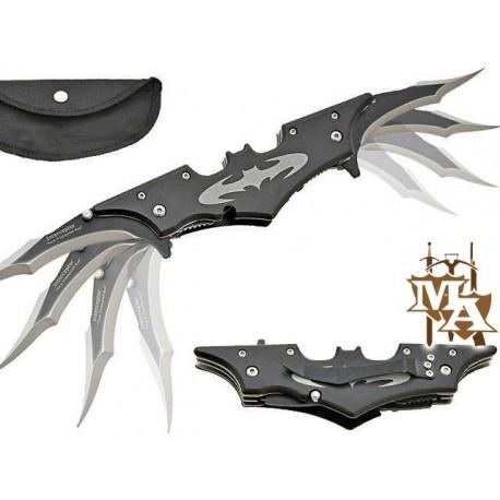 Batman Twin Blade Batarang Folding Lock Knife