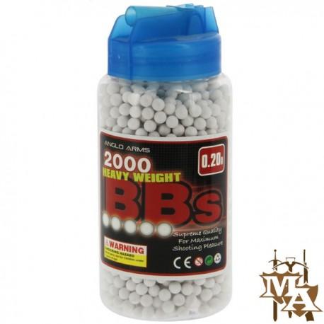 2000 polished 0.20g BB Pellets