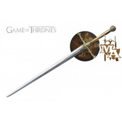 Game of Thrones  Jaime Lannister's Style Sword with Display Wall Plaque