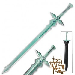 Sword Art Online Anime SAO Elucidator Kirito Black Single Straight Foam Sword