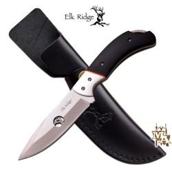"""Elk Ridge Fixed Blade Knife 7.75"""" Overall ER-554BW"""
