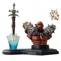 World of Warcraft Figure with Mini Frostmourne Sword