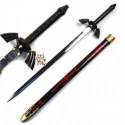 Single Straight Dark 'Legend of Zelda' Master Sword - Twilight Skyward Replica