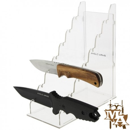 Multi-Tier Knife Display Stand