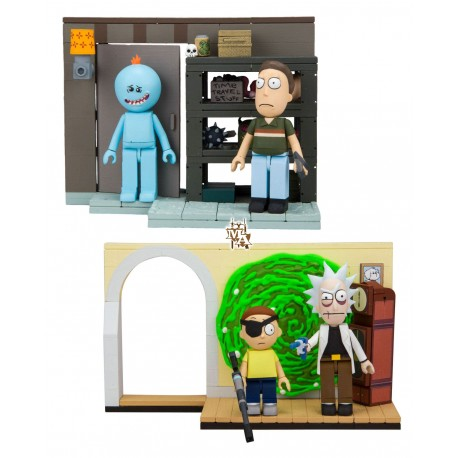 Rick and Morty Construction Twin Set