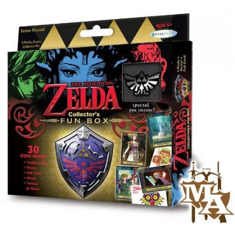The Legend of Zelda Collector Fun Box Set of 3 with Exclusive Pins