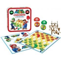Super Mario Boardgame Checkers Collector's Game