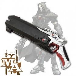 Overwatch Reaper Hellfire Shotgun Replica Foam Pistol Gun Prop Cosplay