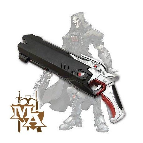 Overwatch Reaper Hellfire Shotgun Replica Foam Pistol Gun Prop