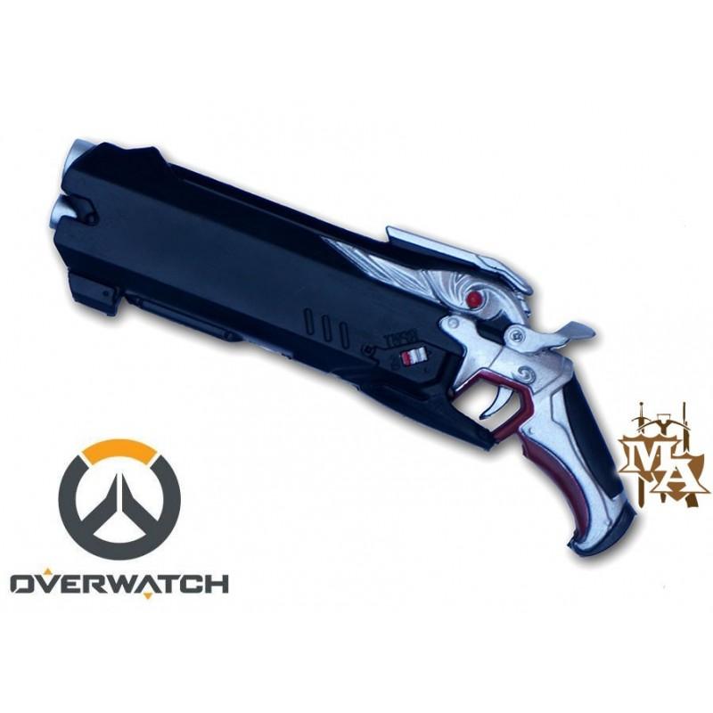 Overwatch Reaper Hellfire Shotgun Replica Foam Pistol Gun ...