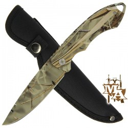 "9.5"" Knife with Camo Handle and All Camo Blade BS012835CA-2"