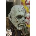 Open Brain Zombie - Grey Full Face Mask - LARP, Costume, Fancy Dress, Halloween