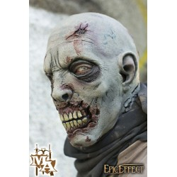 Scarface Zombie - Grey Full Face Mask - LARP, Costume, Fancy Dress, Halloween