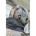 Scarface Zombie - Grey Full Face Mask - LARP, Costume, Fancy Dress, Halloween