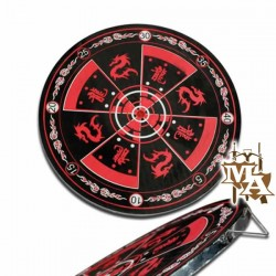 Target Board Red & Black Perfect Point - Throwing Knives - Martial Arts