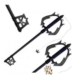 Kingdom of Hearts - Oblivion Passing Memories Dark Key of Forgetfulness Foam Keyblade Sword