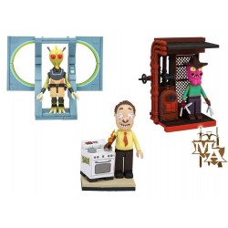 Rick and Morty Micro Construction Set of 3