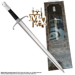 Game of Thrones Jon Snow Direwolf Longclaw Style Letter Opener - Noble Collection NN0044