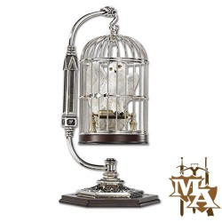 Miniature Hedwig In Cage - Noble Collection NN7098