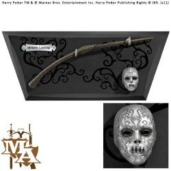 Bellatrix Wand with Wall Display & Mini Mask - Noble Collection NN7976