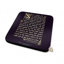 Game of Thrones Throne Coaster (10cm X 10cm)