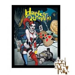 Justice League Harley Quinn Framed 30 x 40cm Print
