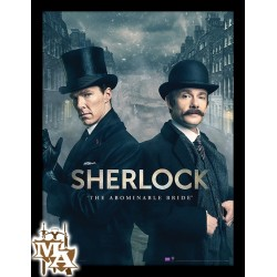 Sherlock The Abominable Bride Framed 30 x 40cm Print