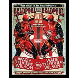 Deadpool (Wade vs Wade) Framed 30 x 40cm Print