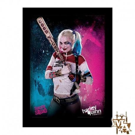 Suicide Squad Harley Quinn Framed 30 x 40cm Print