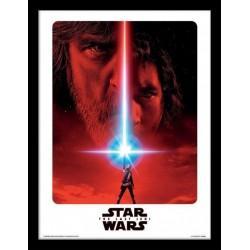 Star Wars The Last Jedi Teaser Framed 30 x 40cm Print
