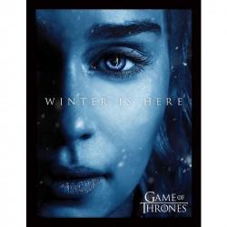 Game Of Thrones Winter is Here - Jon Framed 30 x 40cm Print