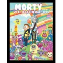 Rick and Morty Cuteness Overload Framed 30 x 40cm Print