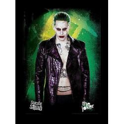Suicide Squad The Joker Framed 30 x 40cm Print