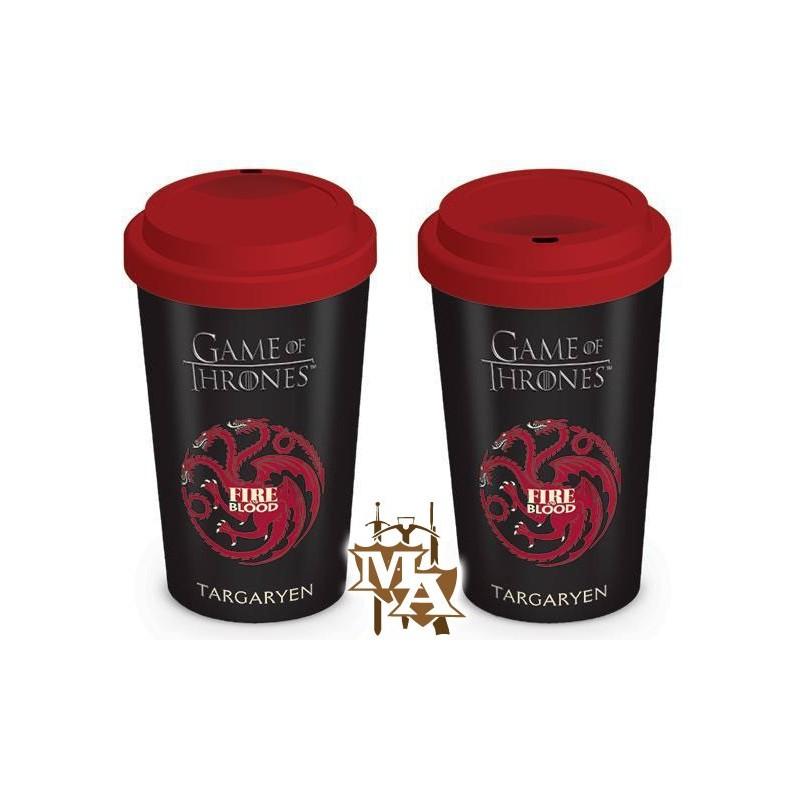 Game Of Thrones House Targaryen Travel Mug Master Of