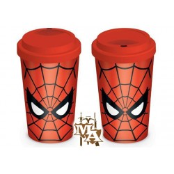 Marvel retro Spider-Man Eyes Travel Mug
