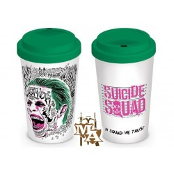 Suicide Squad The Joker Travel Mug