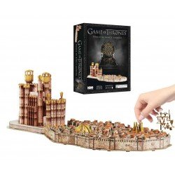 Game of Thrones: 3D Kings Landing Puzzle (260 Piece) 4D Cityscape