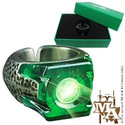 Green Lantern Licensed Light-Up Power Ring Replica Prop by the Noble Collection
