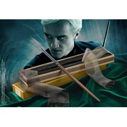 Official Harry Potter Draco Malfoy's Wand in Ollivanders Box - Noble Collection