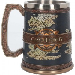 The Seven Kingdoms Tankard 14cm Game of Thrones B3695J7