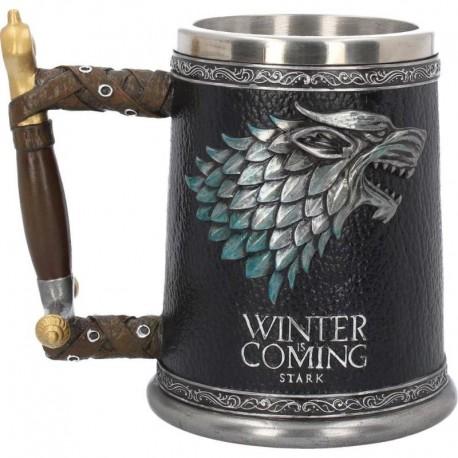 Winter is Coming Tankard 14cm Game of Thrones B3697J7