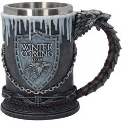 Winter is Coming Tankard 14cm Game of Thrones B3702J7