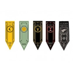 "Game of Thrones Tournament Tapestry Poster Flag Banner 60"" x 18"""