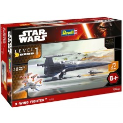 Revell Star Wars X-Wing Fighter Build and Play Model Kit 1:78