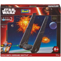 Revell Star Wars Build & Play Kylo Ren's Command Shuttle (Scale 1:93) (Level 2)